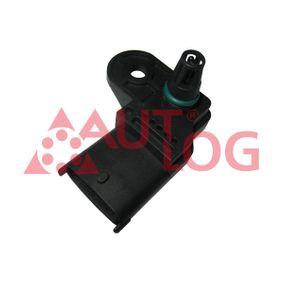 Sensor, intake manifold pressure AS4686 PUNTO (188) 1.2 16V 80 MY 2002
