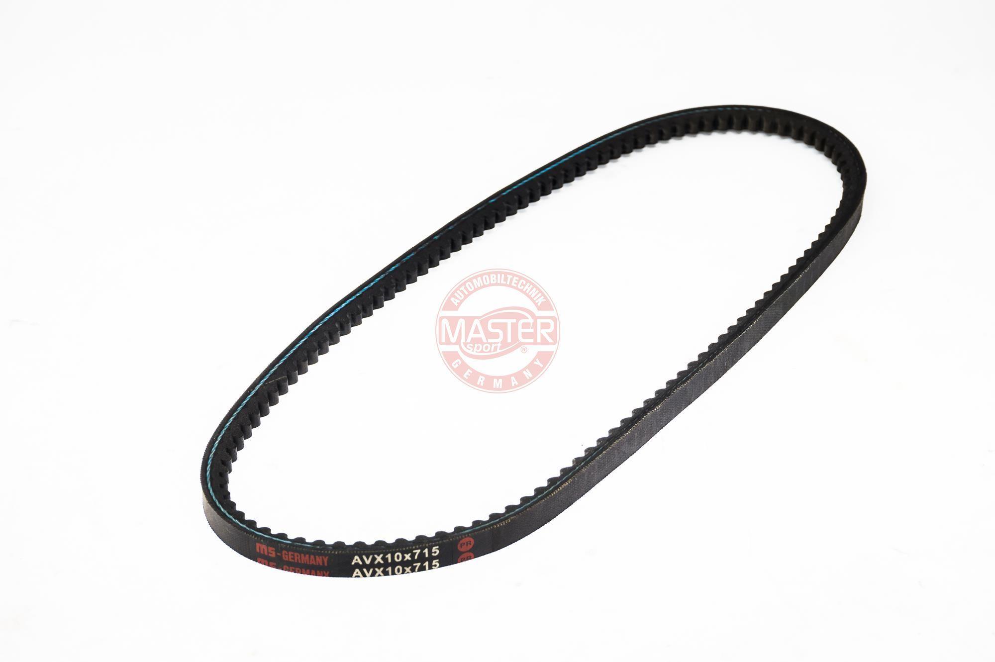 V-Belt AVX-10X715-PCS-MS MASTER-SPORT 10X715 original quality