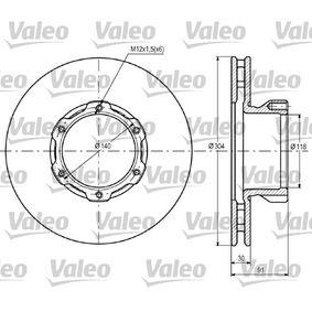 Bremsscheibe Bremsscheibendicke: 30mm, Felge: 6-loch, Ø: 304mm mit OEM-Nummer 668.421.0112