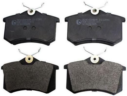 DENCKERMANN  B110041 Bremsbelagsatz, Scheibenbremse Höhe: 52,8mm, Dicke/Stärke: 17,2mm