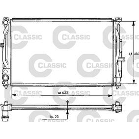 Wasserkühler VW PASSAT Variant (3B6) 1.9 TDI 130 PS ab 11.2000 VALEO Kühler, Motorkühlung (231537) für