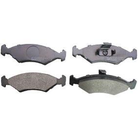Bremsbelagsatz, Scheibenbremse Höhe: 46,5mm, Dicke/Stärke: 17,3mm mit OEM-Nummer 1 010 503