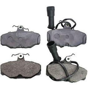 Bremsbelagsatz, Scheibenbremse Breite: 90mm, Höhe: 54,1mm, Dicke/Stärke: 13,7mm mit OEM-Nummer 1111283