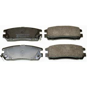 Bremsbelagsatz, Scheibenbremse Höhe: 42,2mm, Dicke/Stärke: 15,8mm mit OEM-Nummer 16 05 033