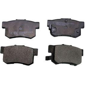 Brake Pad Set, disc brake B110274 CIVIC 7 Hatchback (EU, EP, EV) 2.0 Type-R MY 2005