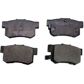 Brake Pad Set, disc brake Height: 47,4mm, Thickness: 14,6mm with OEM Number 43022SX0A52