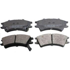 Bremsbelagsatz, Scheibenbremse Höhe: 41,7mm, Dicke/Stärke: 16mm mit OEM-Nummer 45022SA6600