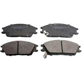 Bremsbelagsatz, Scheibenbremse Höhe: 49mm, Dicke/Stärke: 15mm mit OEM-Nummer 58101 24A00