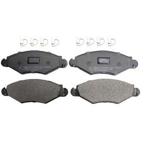 Bremsbelagsatz, Scheibenbremse Höhe: 47,4mm, Dicke/Stärke: 16,8mm mit OEM-Nummer 4253-05