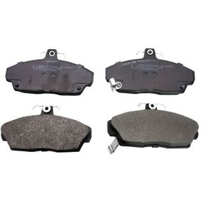 Brake Pad Set, disc brake Height: 68,6mm, Thickness: 17,4mm with OEM Number 45022SK3E00