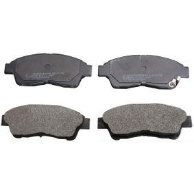 Bremsbelagsatz, Scheibenbremse Höhe: 52,8mm, Dicke/Stärke: 17,1mm mit OEM-Nummer 04466-02020