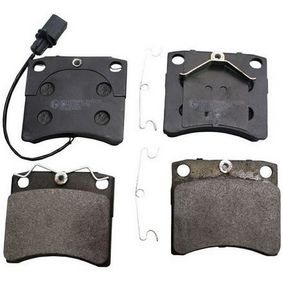 Brake Pad Set, disc brake Height: 79,8mm, Thickness: 17,7mm with OEM Number 3344 061