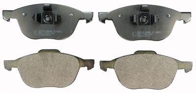 DENCKERMANN  B110855 Bremsbelagsatz, Scheibenbremse Höhe: 62,4mm, Dicke/Stärke: 17,5mm