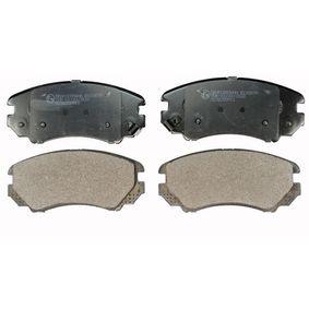 Bremsbelagsatz, Scheibenbremse Höhe: 60mm, Dicke/Stärke: 16,9mm mit OEM-Nummer 58101 3CA20