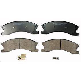 Bremsbelagsatz, Scheibenbremse Höhe: 60,5mm, 60,2mm, Dicke/Stärke: 19,3mm, 18,7mm mit OEM-Nummer 5093 260AA
