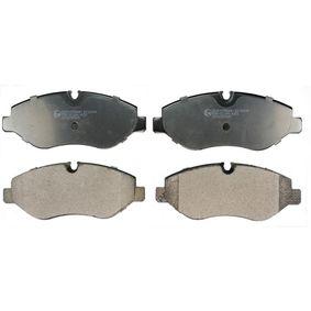 Bremsbelagsatz, Scheibenbremse Höhe: 67mm, Dicke/Stärke: 20mm mit OEM-Nummer 2E0 698 151