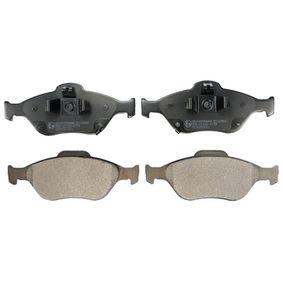 Bremsbelagsatz, Scheibenbremse Höhe: 61,1mm, Dicke/Stärke: 16,8mm mit OEM-Nummer 71772815