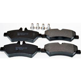Bremsbelagsatz, Scheibenbremse Höhe: 63mm, Dicke/Stärke: 19mm mit OEM-Nummer A 004 420 69 20