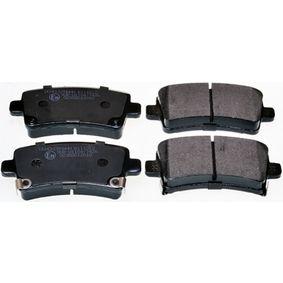 Brake Pad Set, disc brake Width: 106,6mm, Height: 47,1mm with OEM Number 22846359