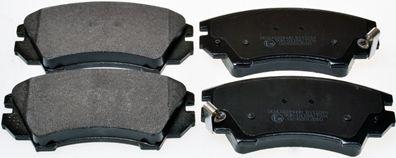 DENCKERMANN  B111014 Brake Pad Set, disc brake Height: 66,7mm, Thickness: 19,1mm