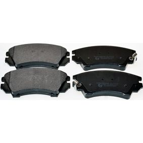Brake Pad Set, disc brake Height: 66,7mm, Thickness: 19,1mm with OEM Number 16 05 186