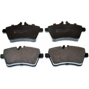 Bremsbelagsatz, Scheibenbremse Breite: 116,4mm, Höhe: 63,8mm, Dicke/Stärke: 19,1mm mit OEM-Nummer 169 420 10 20