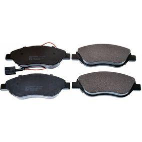 Bremsbelagsatz, Scheibenbremse Breite: 150,8mm, Höhe: 57,4mm, Dicke/Stärke: 19,4mm mit OEM-Nummer 9 949 279
