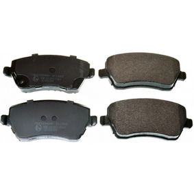 Brake Pad Set, disc brake Width: 116,3mm, Height: 52,4mm, Thickness: 17mm with OEM Number 5581062J31