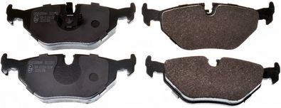 DENCKERMANN  B111092 Bremsbelagsatz, Scheibenbremse Breite: 123mm, Höhe: 44,9mm, Dicke/Stärke: 17,3mm