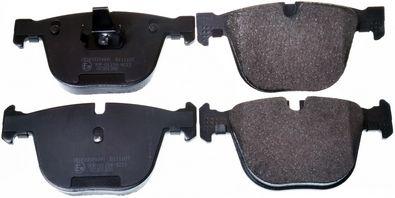 DENCKERMANN  B111107 Bremsbelagsatz, Scheibenbremse Breite: 139,5mm, Höhe: 67,8mm, Dicke/Stärke: 17,3mm
