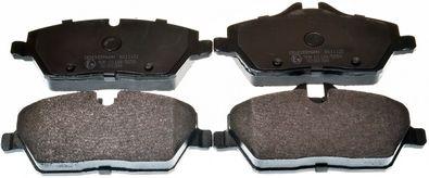 DENCKERMANN  B111122 Bremsbelagsatz, Scheibenbremse Breite: 131,3mm, Höhe 1: 53,2mm, Höhe 2: 65,3mm, Dicke/Stärke: 17,6mm