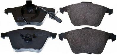 DENCKERMANN  B111125 Bremsbelagsatz, Scheibenbremse Breite 1: 72,9mm, Höhe 1: 155,1mm, Höhe 2: 156,3mm, Dicke/Stärke: 20,3mm