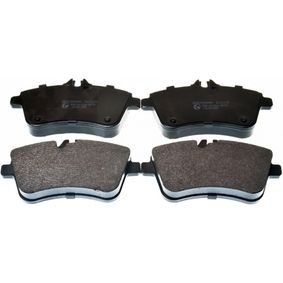 Brake Pad Set, disc brake Width: 131,4mm, Height: 69,8mm, Thickness: 20,2mm with OEM Number A 169 420 01 20