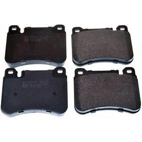 Bremsbelagsatz, Scheibenbremse Breite: 101,7mm, Höhe: 79,3mm, Dicke/Stärke: 16,5mm mit OEM-Nummer 2995632
