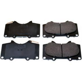 Bremsbelagsatz, Scheibenbremse Breite: 134,2mm, Höhe: 76,9mm, Dicke/Stärke: 17mm mit OEM-Nummer 04465-35290