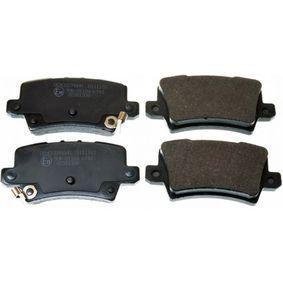 Brake Pad Set, disc brake B111183 CIVIC 8 Hatchback (FN, FK) 2.2 CTDi (FK3) MY 2010