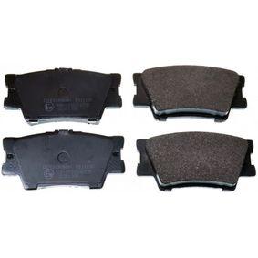 Bremsbelagsatz, Scheibenbremse Breite: 96,6mm, Höhe: 49,2mm, Dicke/Stärke: 15,5mm mit OEM-Nummer 044 66Y ZZE8