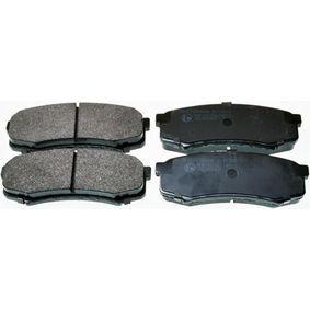 Bremsbelagsatz, Scheibenbremse Breite: 116,2mm, Höhe: 44mm, Dicke/Stärke: 15,4mm mit OEM-Nummer 0449260020