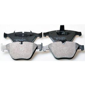 Bremsbelagsatz, Scheibenbremse Breite: 155,1mm, Höhe: 68,3mm, Dicke/Stärke: 20,3mm mit OEM-Nummer 3411 6 776 161