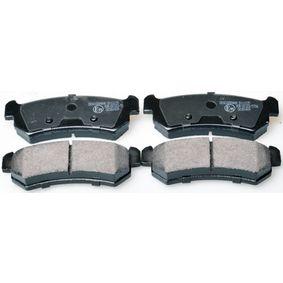 Bremsbelagsatz, Scheibenbremse Breite: 104,3mm, Höhe: 38,9mm, Dicke/Stärke: 14,6mm mit OEM-Nummer 542 115