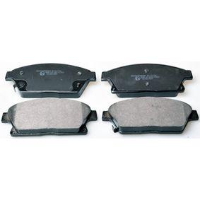 Bremsbelagsatz, Scheibenbremse Breite: 148,2mm, Höhe: 61,1mm, Dicke/Stärke: 19,1mm mit OEM-Nummer 16 05 135