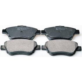 Bremsbelagsatz, Scheibenbremse Breite: 122,8mm, Höhe: 53,3mm, Dicke/Stärke: 18,1mm mit OEM-Nummer 77 363 992