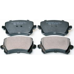 Bremsbelagsatz, Scheibenbremse Breite: 105,2mm, Höhe: 56,4mm, Dicke/Stärke: 16,9mm mit OEM-Nummer 3C0-698-451-E