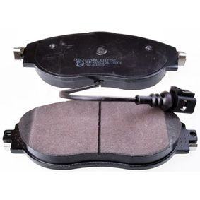 Brake Pad Set, disc brake Height: 69,7mm, Thickness: 20mm with OEM Number 3C0698151G