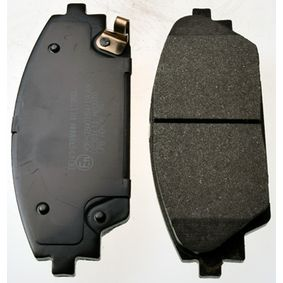 Brake Pad Set, disc brake Height: 55,8mm, Thickness: 15,8mm with OEM Number BHY1-33-28ZA