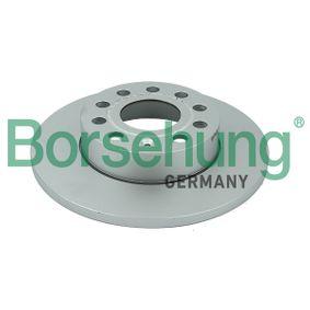 Bremsscheibe Bremsscheibendicke: 12mm, Ø: 260mm mit OEM-Nummer 1K0615601AC