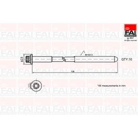 FAI AutoParts  B1139 Zylinderkopfschraubensatz Gewindemaß: M11