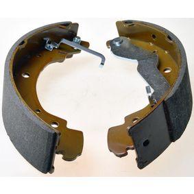 Bremsbackensatz Breite: 55mm mit OEM-Nummer 701 609 531E