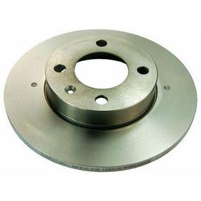 Bremsscheibe Bremsscheibendicke: 10mm, Lochanzahl: 4 mit OEM-Nummer 811615301