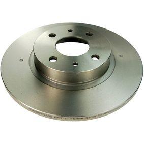 DENCKERMANN спирачен диск (B130016) за с ОЕМ-номер 51859075